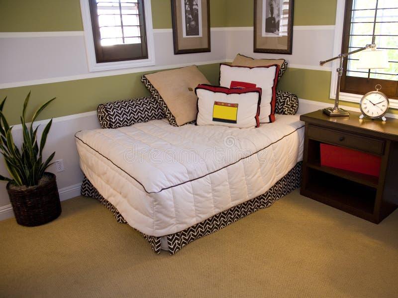 Entwerferschlafzimmer lizenzfreies stockfoto