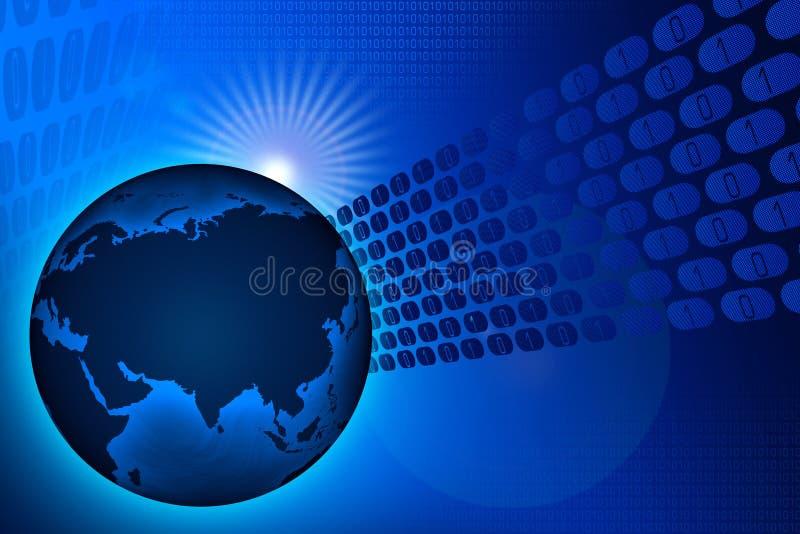 Welttechnologie vektor abbildung