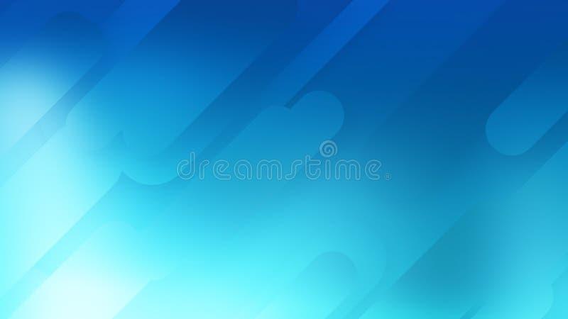 Entwurfs-Formgraphik des Hintergrundes abstrakte, minimale Landung stock abbildung