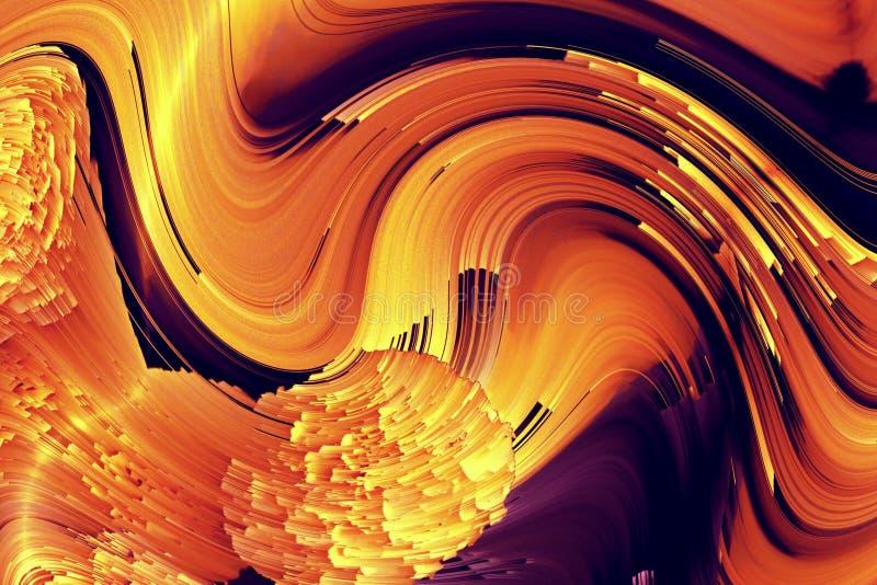Entwurfsspiralen-Symmetrieillustration geometrisch graphik lizenzfreies stockfoto