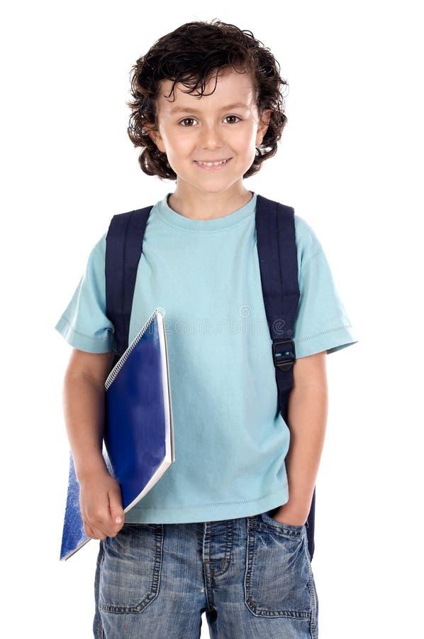 Entzückender Kindkursteilnehmer stockbilder
