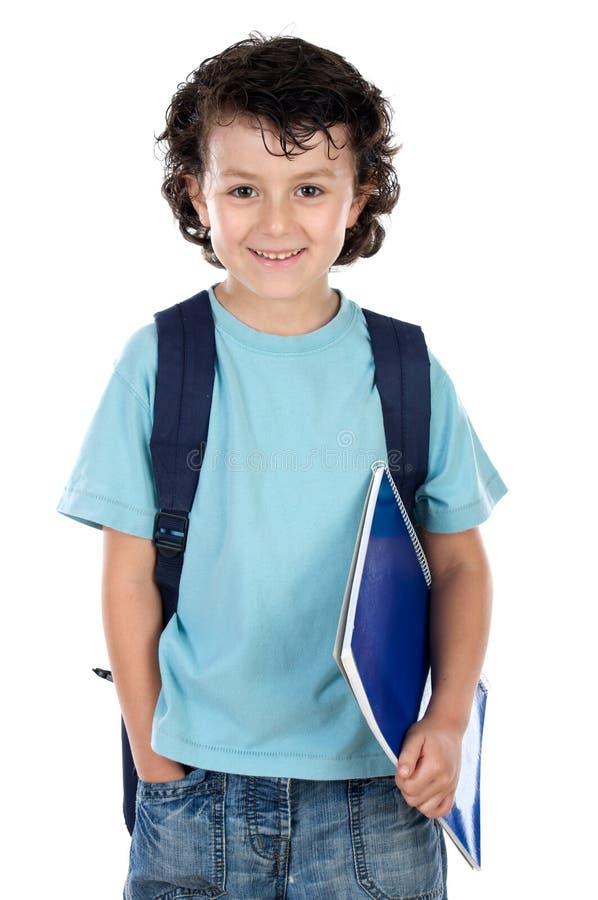Entzückender Kindkursteilnehmer lizenzfreies stockbild