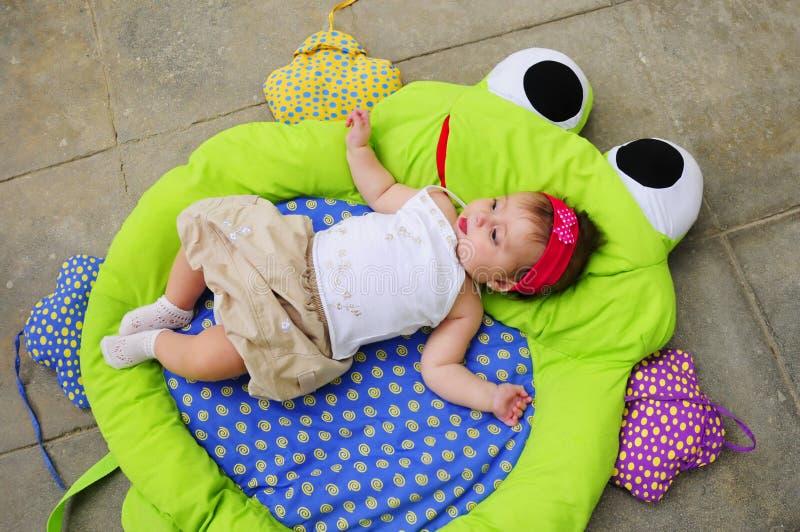 Entzückendes Babyportrait stockfotografie