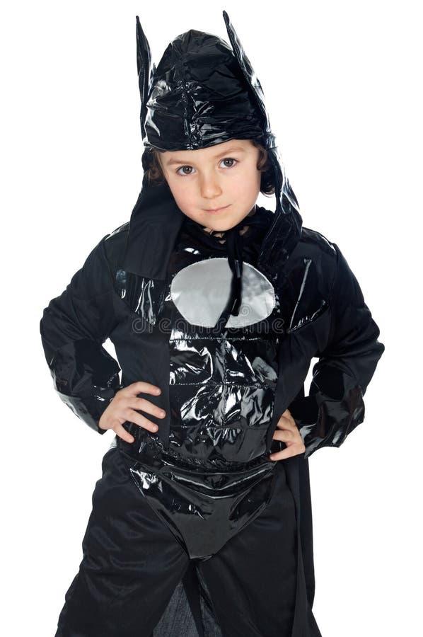 Entzückendes Kind verkleidet vom Hieb stockfotos