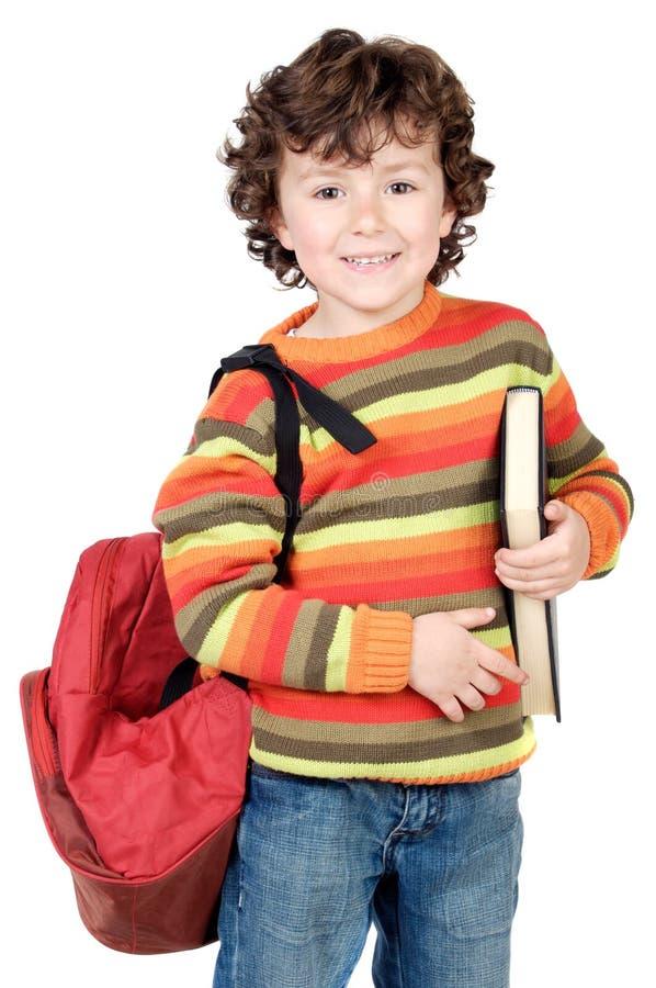 Entzückendes Kindstudieren stockfotos