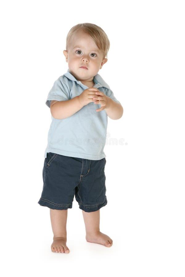 Entzückendes Kleinkind lizenzfreie stockfotos