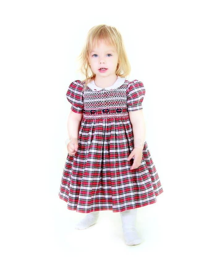 Entzückendes Kleinkindmädchen lizenzfreies stockfoto