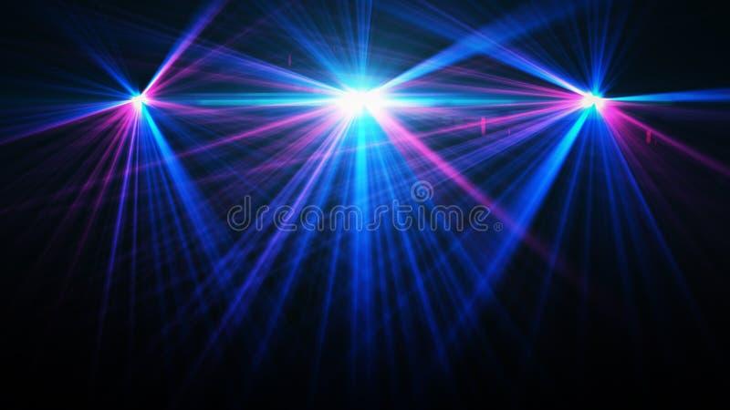 Entziehen Sie Bild der Konzertbeleuchtung stock abbildung