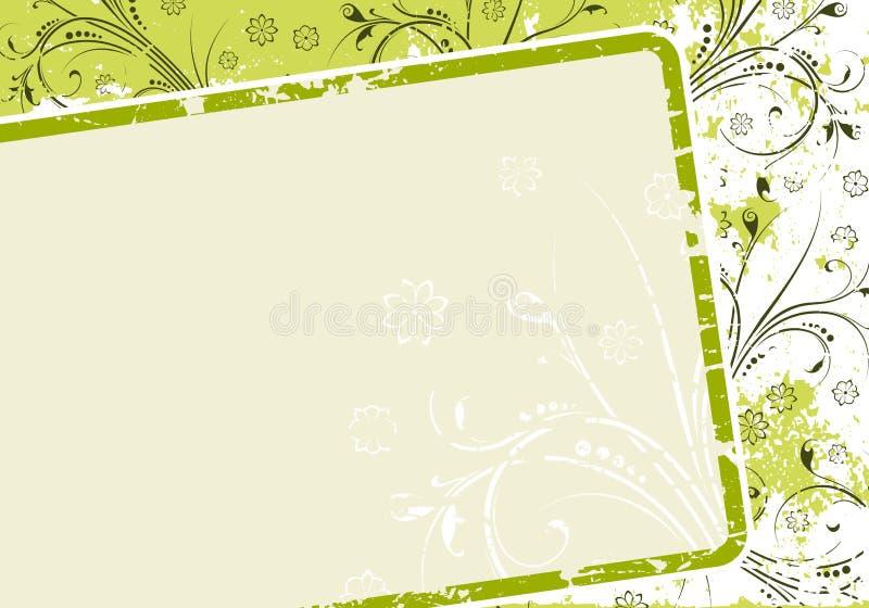 Entziehen Sie Grunge Hintergrund stock abbildung