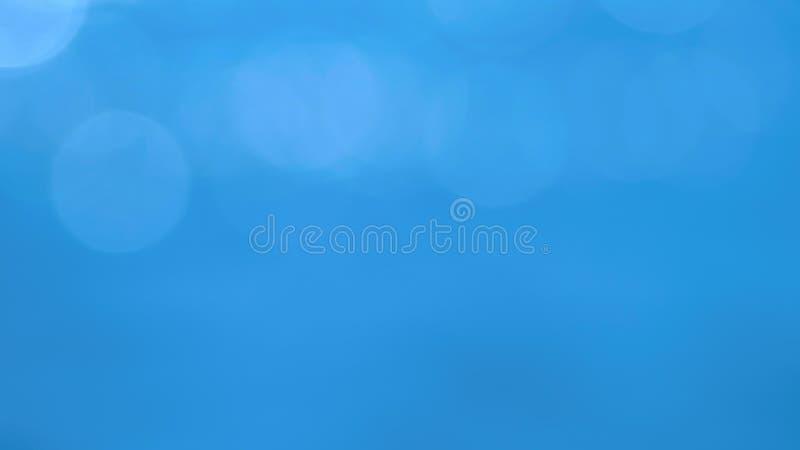 entziehen Sie Hintergrund blauer schöner Hintergrund mit weißen runden Höhepunkten lizenzfreies stockfoto