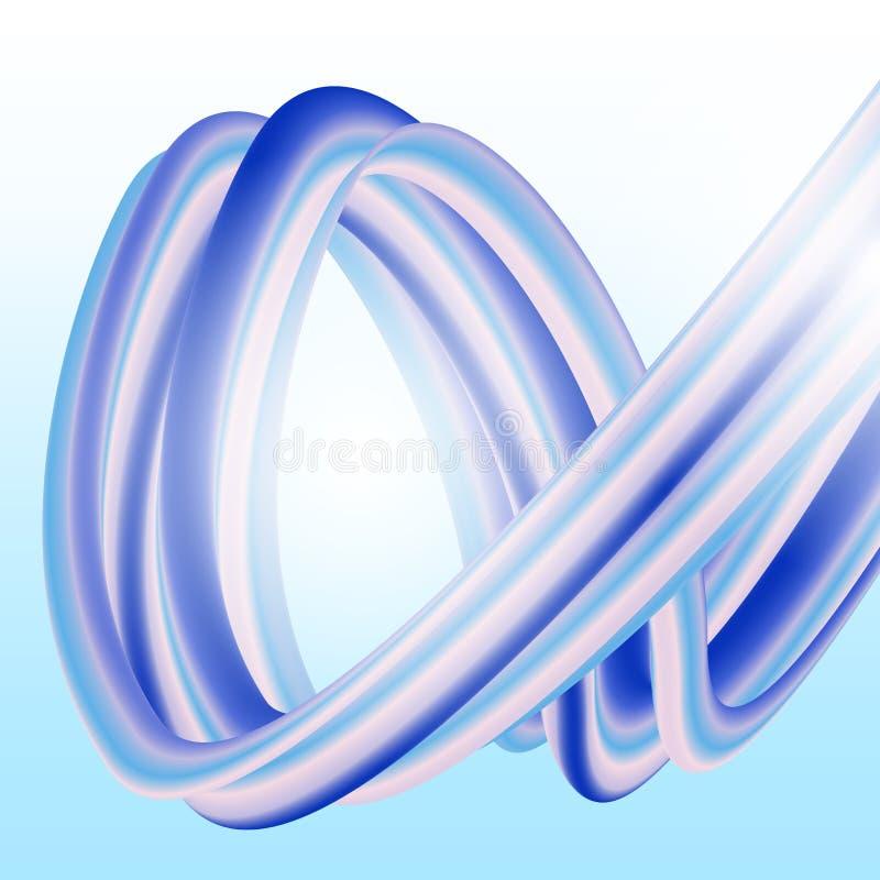 entziehen Sie Hintergrund Bunte Wellen-Formen Modische Vektor-Illustration EPS10 für Ihr kreatives Design Plakat mit vektor abbildung