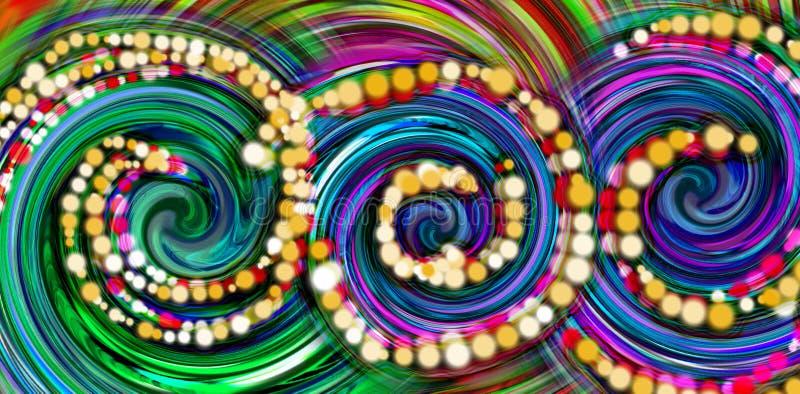 entziehen Sie Hintergrund Bunter Tapetenhintergrund Bunte abstrakte Acrylmalerei Mischungsfarbhintergrund lizenzfreies stockbild