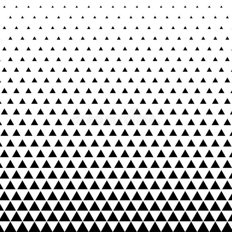 entziehen Sie Hintergrund Geometrische Auslegung Abstraktes geometrisches Hippie-Modedesigndruck-Dreieckmuster halbtonbild stock abbildung