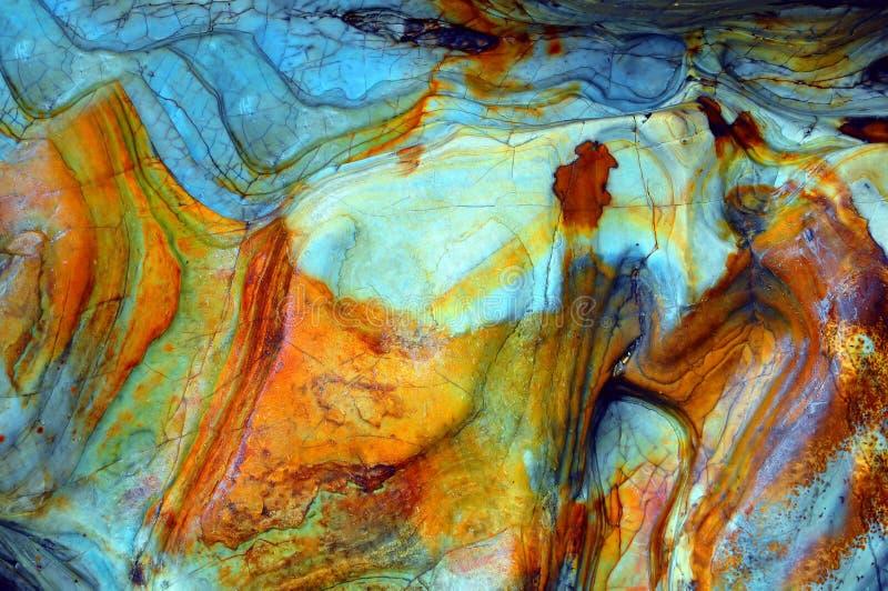 Entziehen Sie Steinhintergrund stockbilder