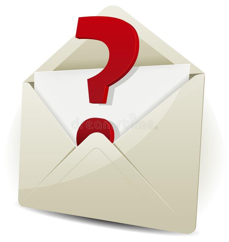 Envíe en la petición de Email libre illustration