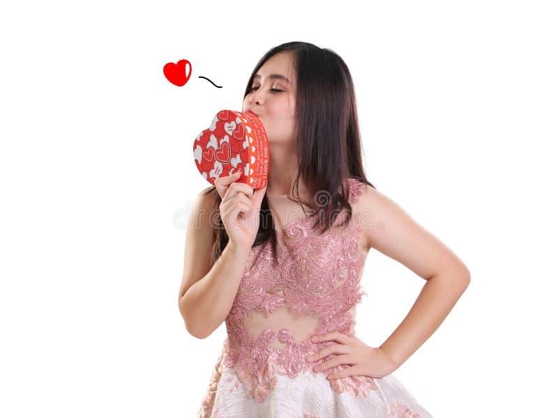 Envíelo con un beso foto de archivo libre de regalías