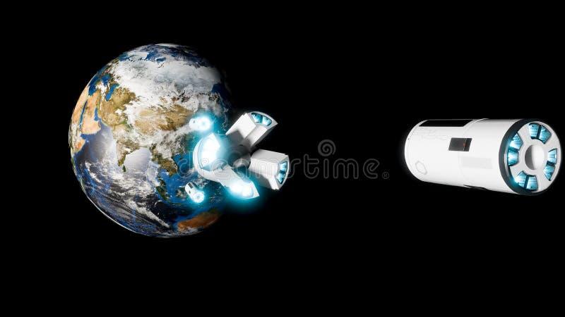 Envahissez la terre images stock