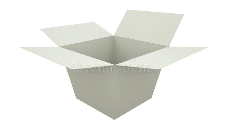 Envase de alimento para llevar en blanco blanco 3d rinden libre illustration