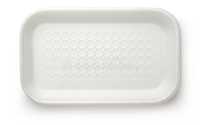 Envase de comida plástico imágenes de archivo libres de regalías