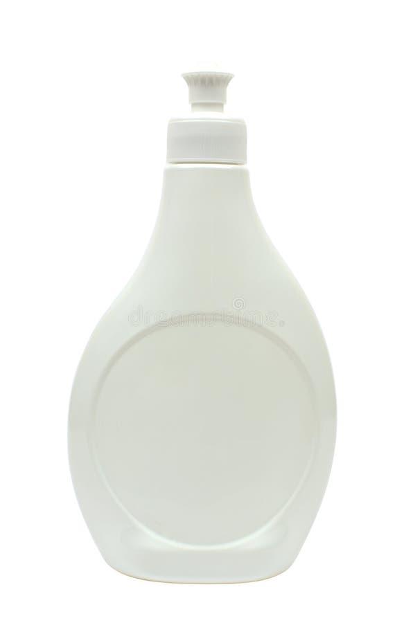 Envase detergente blanco foto de archivo libre de regalías