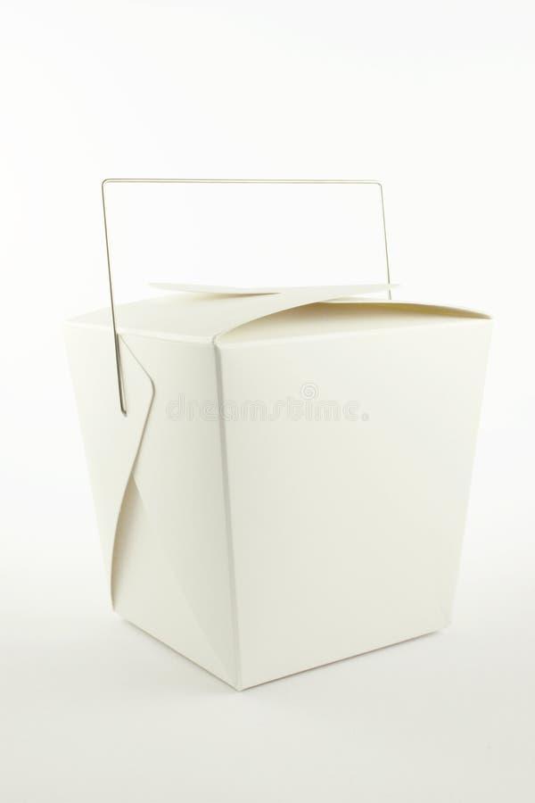 Envase para llevar chino foto de archivo