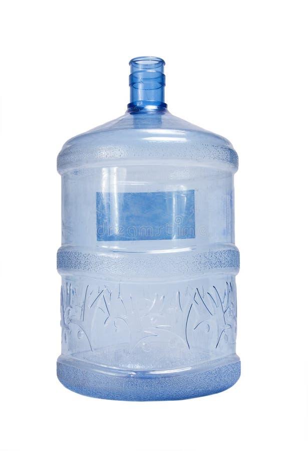 Envase plástico del agua imagenes de archivo