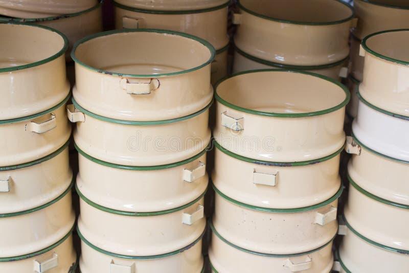 Envases de comida foto de archivo libre de regalías