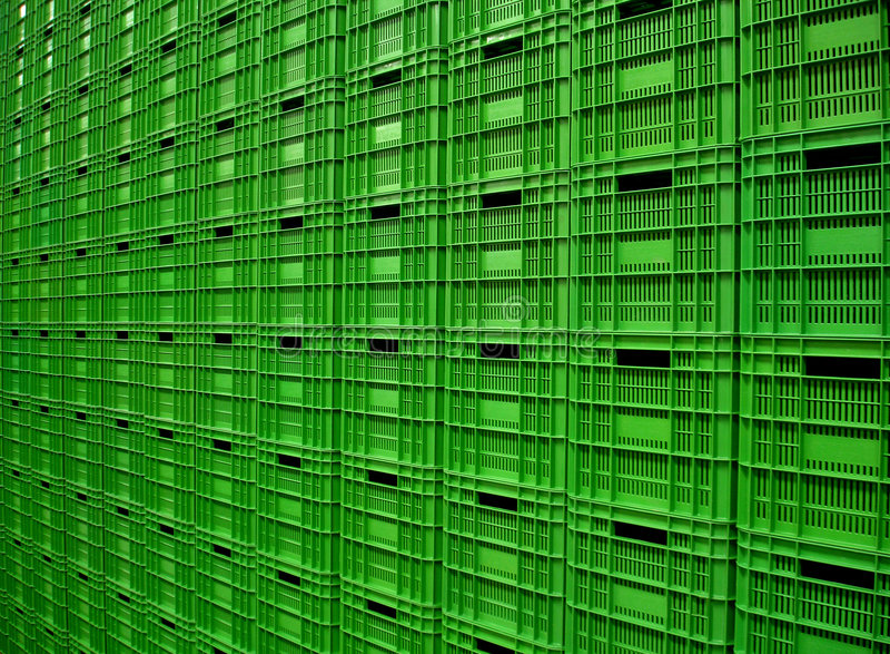 Envases de plástico 1 imagen de archivo