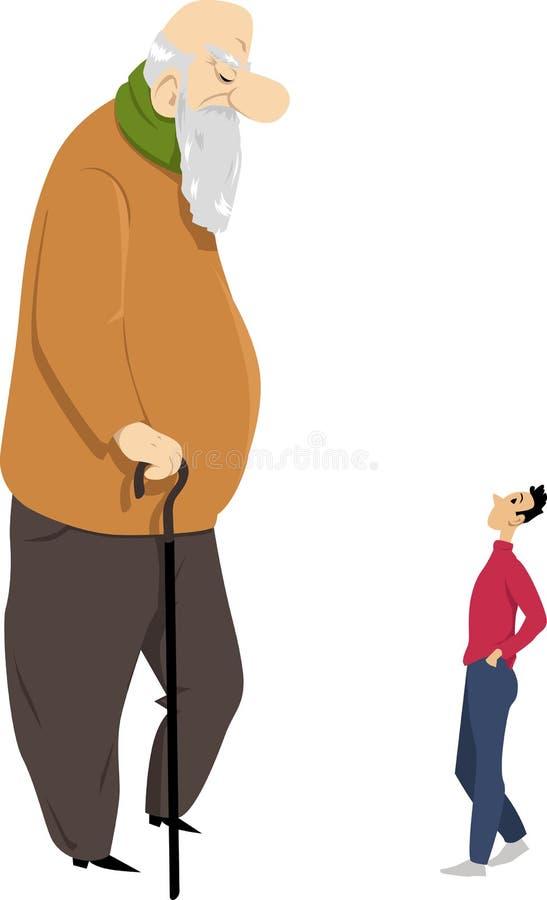 Envejecimiento de la poblaci?n libre illustration
