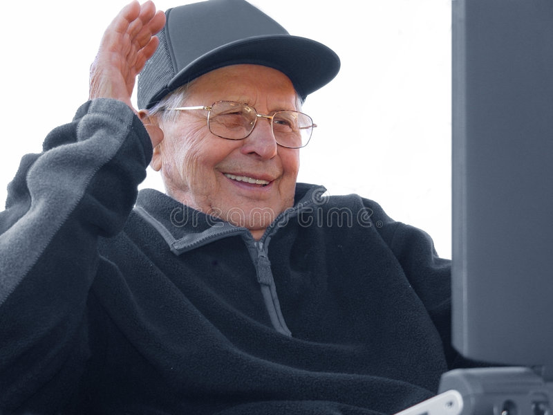 Envelhecimento feliz imagem de stock royalty free
