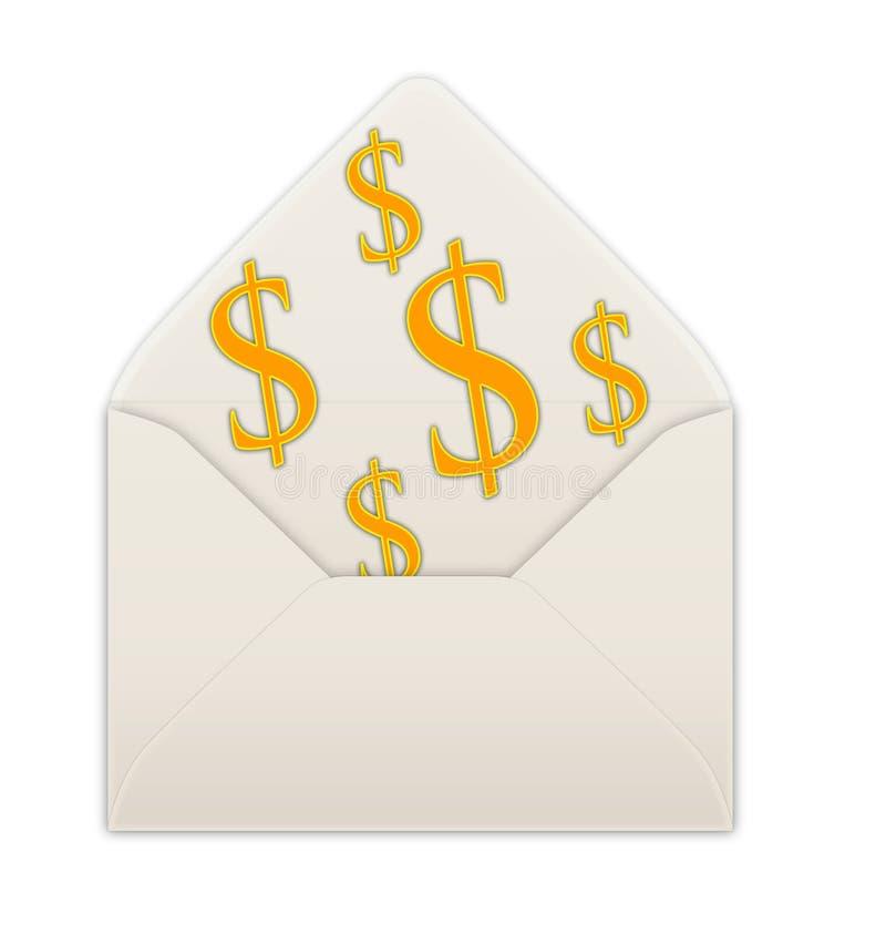 Download Envelope stock illustration. Image of message, opened - 1129287