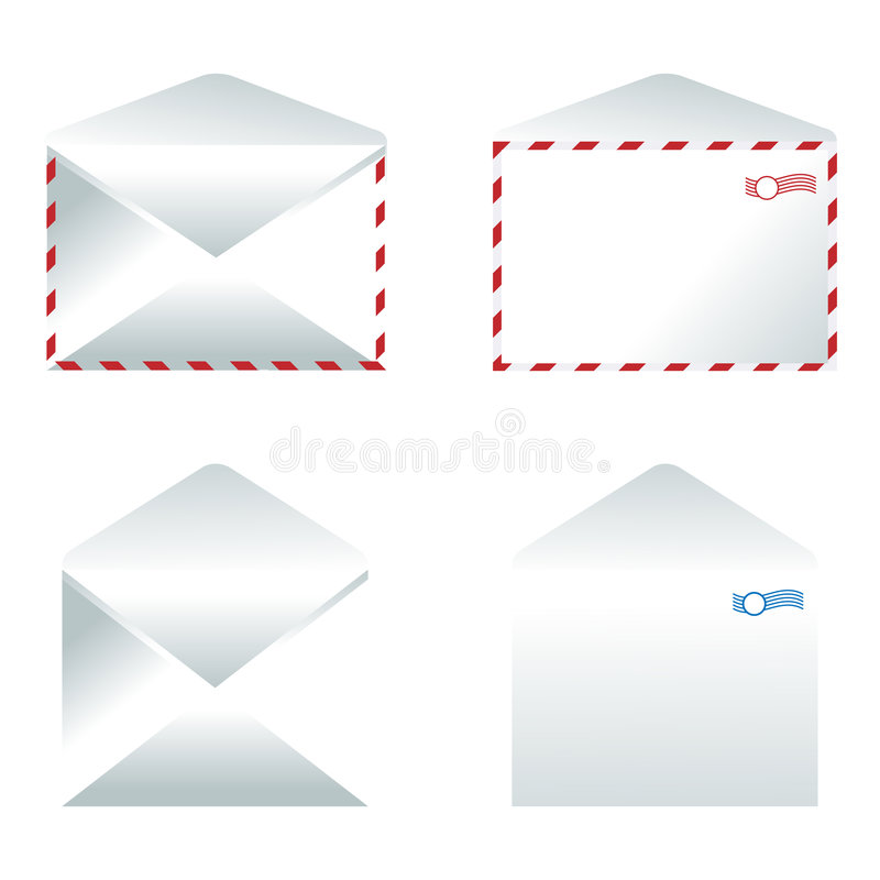 Envelope ilustração do vetor