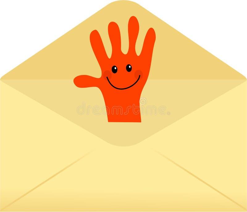 Envelope acessível ilustração do vetor
