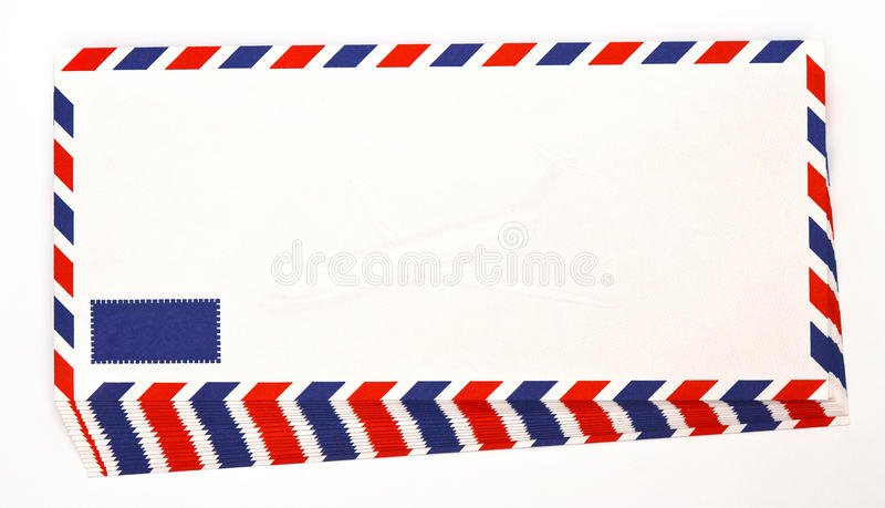 Download Envelope by air mail stock image. Image of letter, isolated - 39504233