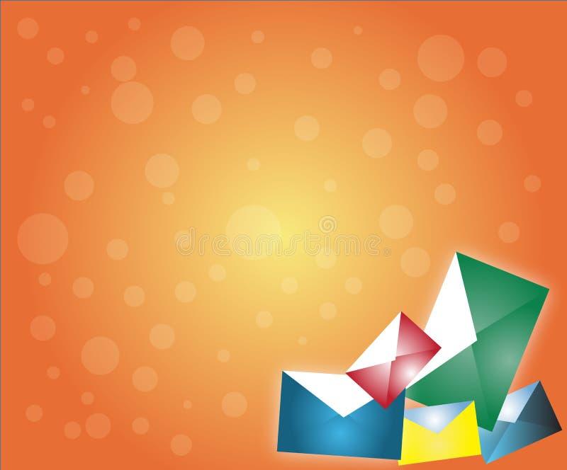 Download Envelope background stock illustration. Illustration of christmas - 7203299