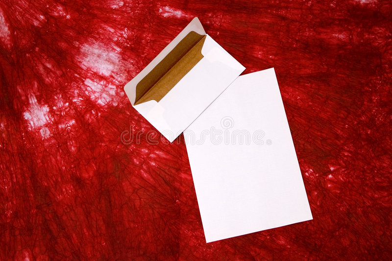 Envelope branco foto de stock royalty free
