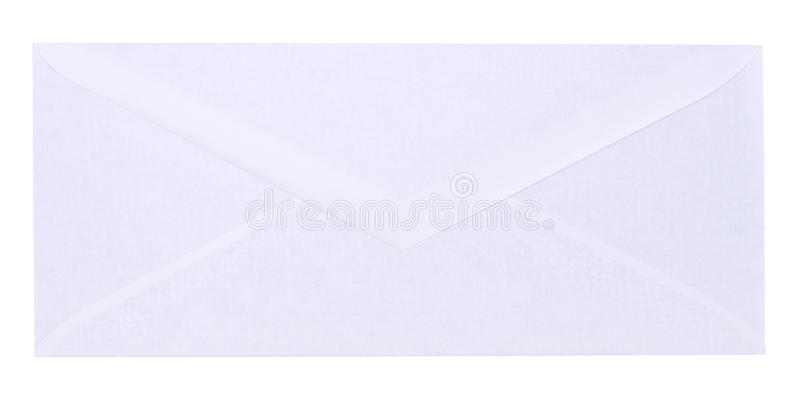 Envelope branco foto de stock royalty free