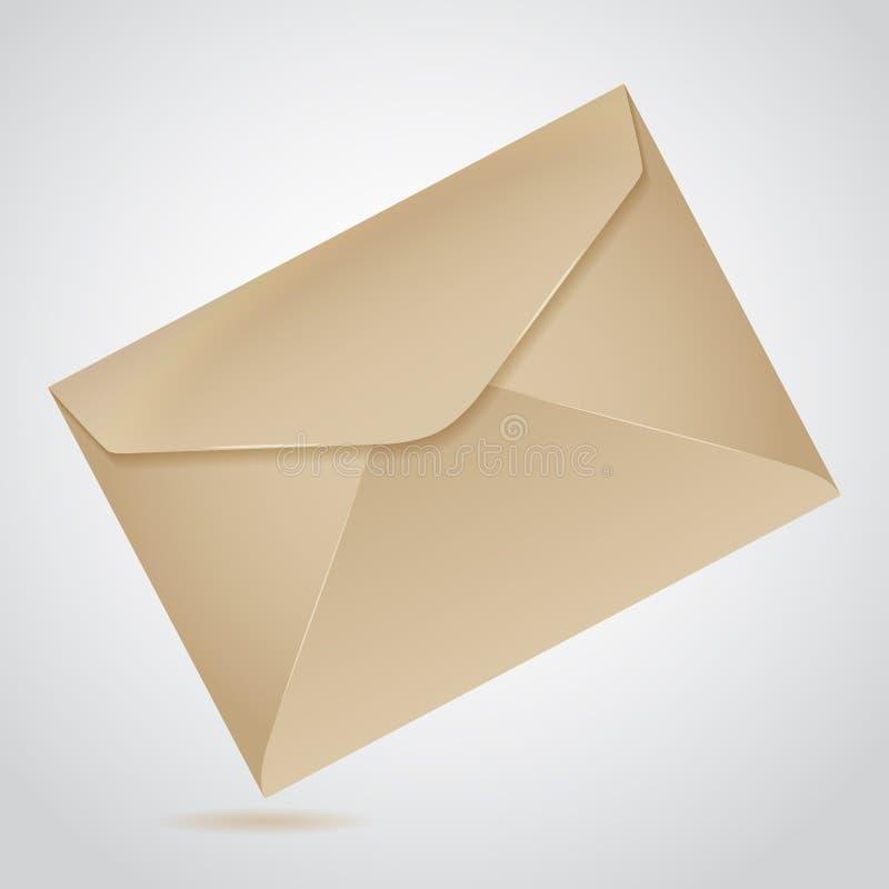 Download Envelope of brown paper stock vector. Illustration of envelope - 39503911