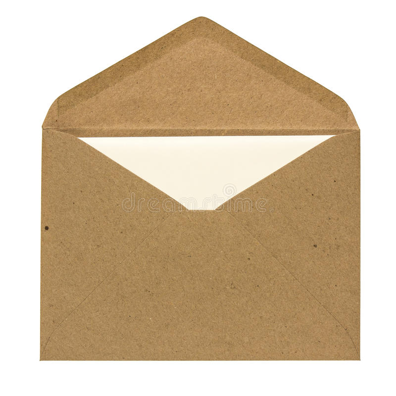 Envelope and card royalty free stock photography