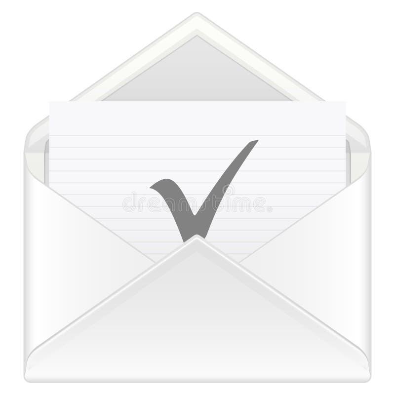 Envelope Check Symbol Stock Photography