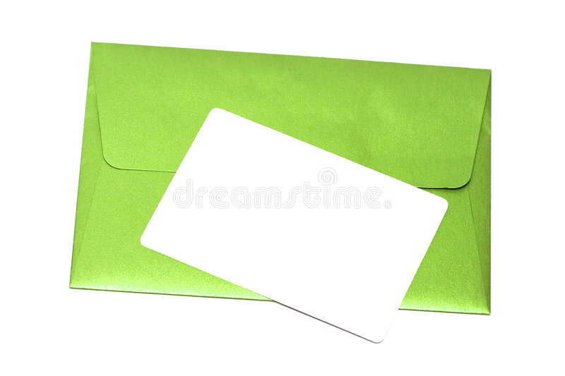 Download Envelope With Congratulatory Card Royalty Free Stock Photo - Image: 7289525