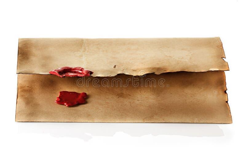 Envelope do vintage foto de stock royalty free