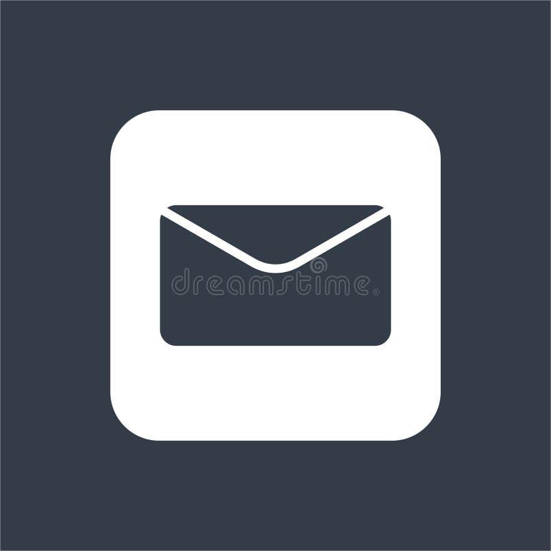 Envelope flat design, mail design, email design. For your Business royalty free illustration
