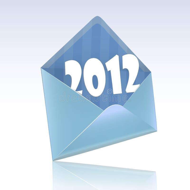 Download Envelope Greeting 2012 Stock Photo - Image: 22620790