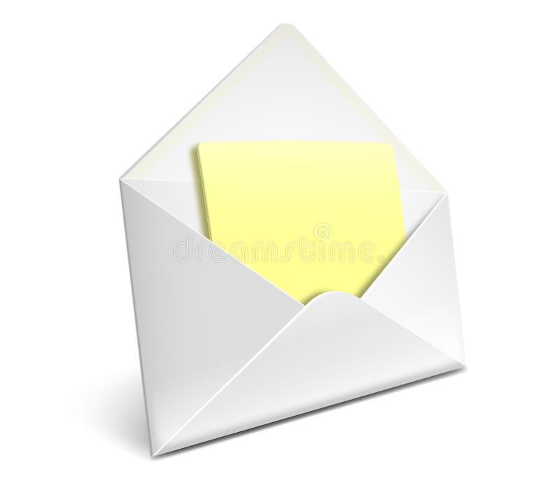 Envelope icon royalty free stock photos