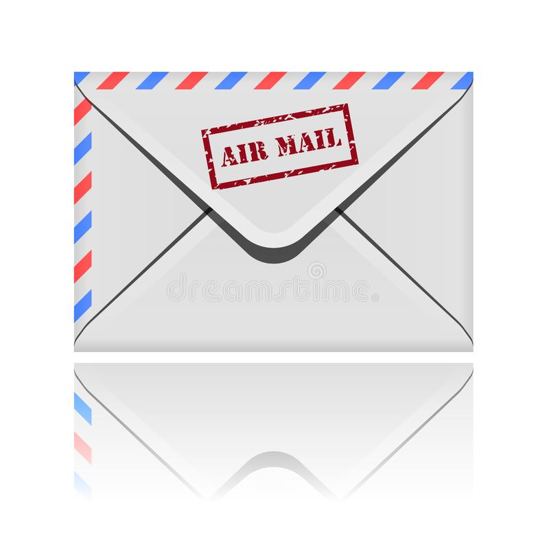 Envelope icon royalty free stock photography
