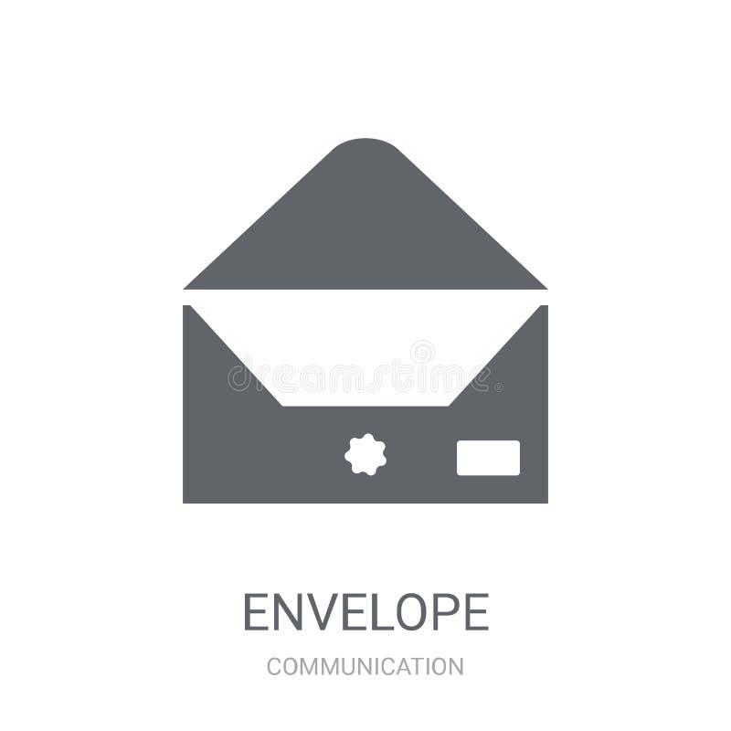 Envelope icon. Trendy Envelope logo concept on white background stock illustration
