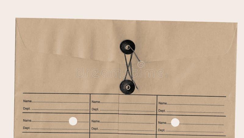 Envelope Inter-office imagens de stock