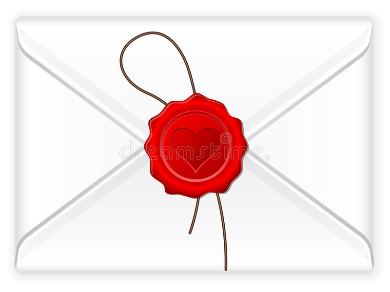 Envelope Love Stamp Stock Photo