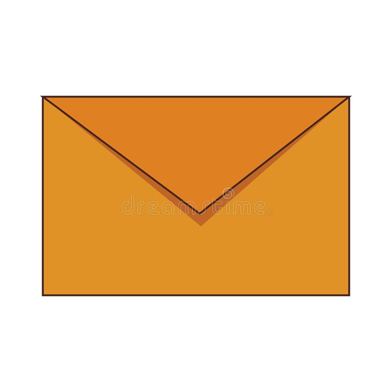 Envelope mail symbol stock illustration